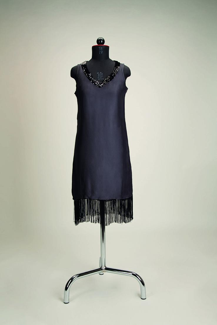 Nähanleitung Charleston-Kleid