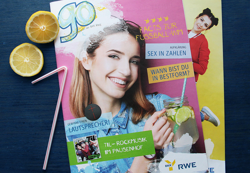 """Sommer Magazincover """"Go"""""""